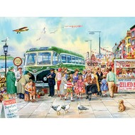 Cobble Hill Puzzles Cobble Hill British Pier Easy Handling Puzzle 275pcs