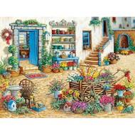 Cobble Hill Puzzles Cobble Hill Fancy Flower Shop Easy Handling Puzzle 275pcs