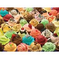 Cobble Hill Puzzles Cobble Hill More Ice Cream Family Puzzle 400pcs