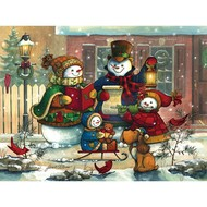 Cobble Hill Puzzles Cobble Hill Song for the Season Family Puzzle 400pcs