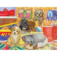 Cobble Hill Puzzles Cobble Hill Hush Puppies Family Puzzle 400pcs