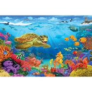 Cobble Hill Puzzles Cobble Hill Ocean Reef Floor Puzzle 36pcs