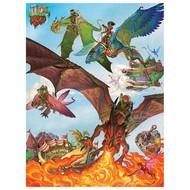 Cobble Hill Puzzles Cobble Hill Dragon Flight Family Puzzle 400pcs
