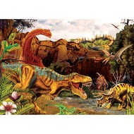 Cobble Hill Puzzles Cobble Hill Dino Story Tray Puzzle 35pcs