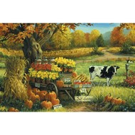 Cobble Hill Puzzles Cobble Hill Countryside Stand Puzzle 180pcs RETIRED