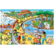 Cobble Hill Puzzles Cobble Hill Afternoon at the Zoo Puzzle 60pcs