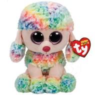 """TY TY Beanie Boos Rainbow 13"""" Med"""
