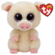 "TY TY Beanie Boos Piggley 6"" Reg"