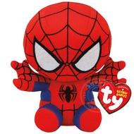 "TY TY Beanie Babies Marvel SpiderMan 8"" Reg"