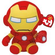 "TY TY Beanie Babies Marvel Iron Man 8"" Reg"