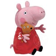 """TY TY Beanie Babies Peppa Pig 18"""" Lrg"""
