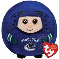 TY TY Beanie Ballz NHL Vancouver Canucks - Reg RETIRED