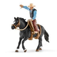 Schleich Schleich Saddle Bronc Riding with Cowboy SNA EXCLUSIVE