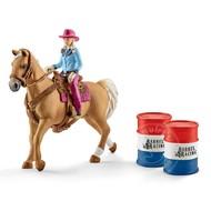 Schleich Schleich Barrel Racing with Cowgirl SNA EXCLUSIVE