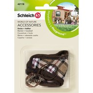 Schleich Schleich Blanket & Headstall Brown