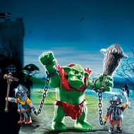 Playmobil Playmobil Giant Troll with Dwarf Fighters