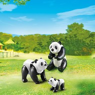 Playmobil Playmobil Panda Family