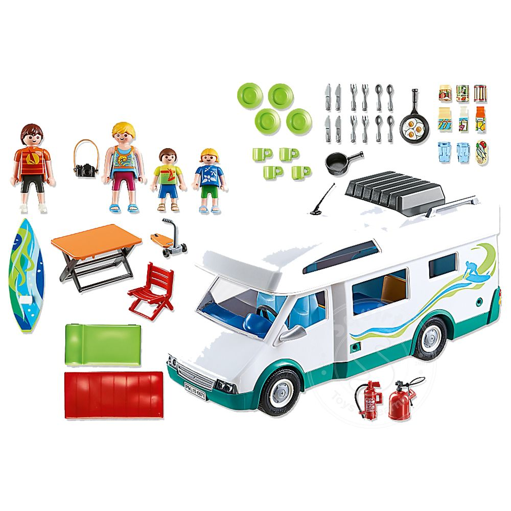 Playmobil Summer Camper - Squirt\'s Toys & Learning Co