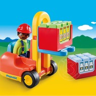 Playmobil Playmobil 123 Forklift RETIRED