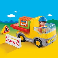 Playmobil Playmobil 123 Construction Truck RETIRED