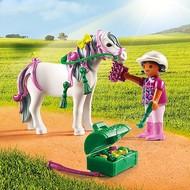 Playmobil Playmobil Groomer with Heart Pony