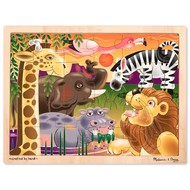 Melissa & Doug Melissa & Doug African Plains Wooden Tray Puzzle 24pcs