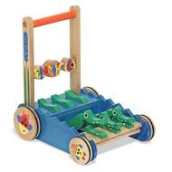 Melissa & Doug Melissa & Doug Chomp & Clack Alligator Push Toy_