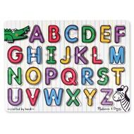 Melissa & Doug Melissa & Doug See-Inside Alphabet Uppercase Peg Puzzle