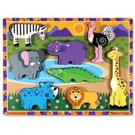 Melissa & Doug Melissa & Doug Safari Chunky Puzzle