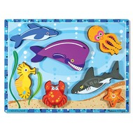 Melissa & Doug Melissa & Doug Sea Creatures Chunky Puzzle