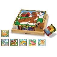 Melissa & Doug Melissa & Doug Pets Cube Puzzle 6-in-1