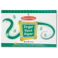 "Melissa & Doug Melissa & Doug Finger Paint Paper Pad (12"" x 18"")"