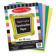 """Melissa & Doug Melissa & Doug Multi-Color Construction Paper (9"""" x 12"""")_"""