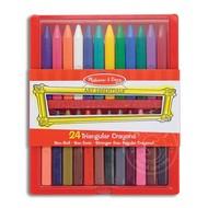 Melissa & Doug Melissa & Doug 24 Triangular Crayons