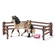 Schleich Schleich Horse Care Set, Andalusian RETIRED
