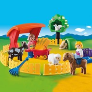 Playmobil Playmobil 123 Petting Zoo