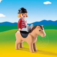 Playmobil Playmobil 123 Equestrian with Horse