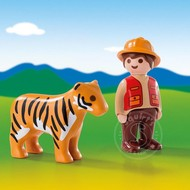 Playmobil Playmobil 123 Gamekeeper with Tiger RETIRED