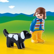 Playmobil Playmobil 123 Woman with Dog RETIRED