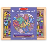 Melissa & Doug Melissa & Doug Butterfly Friends Wooden Bead Set