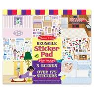 Melissa & Doug Melissa & Doug Reusable Sticker Pad Play House