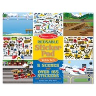 Melissa & Doug Melissa & Doug Reusable Sticker Pad Vehicles
