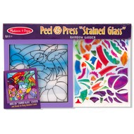 Melissa & Doug Melissa & Doug Peel & Press Stained Glass - Rainbow Garden