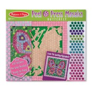 Melissa & Doug Melissa & Doug Peel & Press Sticker By Number Mosaic Butterfly_