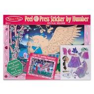 Melissa & Doug Melissa & Doug Peel & Press Sticker by Number Mystical Unicorn