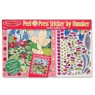 Melissa & Doug Melissa & Doug Peel & Press Sticker by Number Flower Garden Fairy_