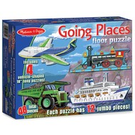 Melissa & Doug Melissa & Doug Going Places Floor Puzzle 4 x 12pcs_