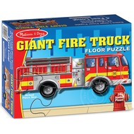 Melissa & Doug Melissa & Doug Giant Fire Truck Floor Puzzle 24pcs
