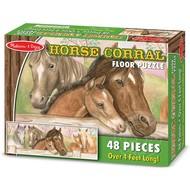Melissa & Doug Melissa & Doug Horse Corral Floor Puzzle 48pcs_