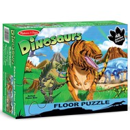 Melissa & Doug Melissa & Doug Land of Dinosaurs Floor Puzzle 48pcs